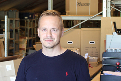 Bo Eriksen, medejer i Lagerkompagniet